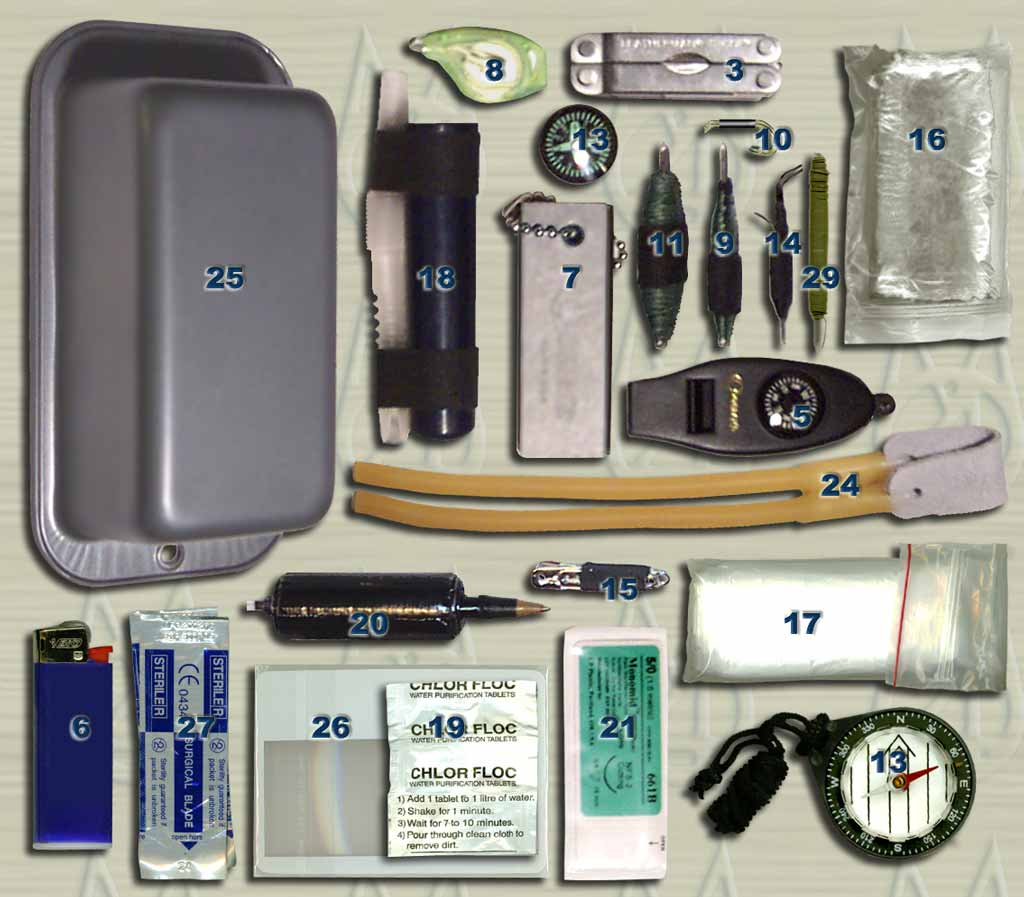 Great Survival Gear of Emergency surgical set